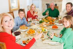 ארוחת חג אצל הפרטנר החדש